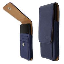 caseroxx Outdoor Case voor HTC Wildfire X in blue gemaakt van real leather