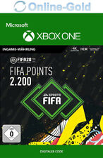FIFA 20 2200 FUT Points Key FIFA Ultimate Team Points - Xbox One Download Code