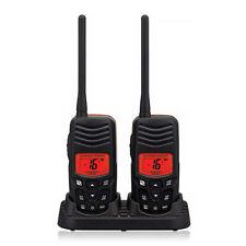 Standard Horizon HX100 Handheld VHF Radio Waterproof NOAA Weather Alert 2 Pk New
