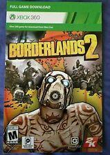 Borderlands 2 Xbox 360 - Digital Download - Please Read Description