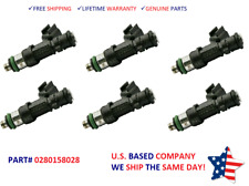 #0280158233 Yrs 11-17 Dodge Charger 3.6L V6 NEW 1unit Fuel Injector OEM Bosch