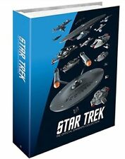 STAR TREK Official Starships Magazine Federation Binder Eaglemoss Limited Ed