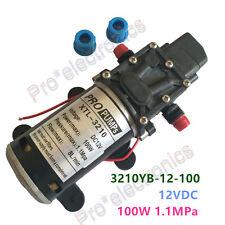 12V 100W Micro DC Diaphragm Water Pump Boost Pump 3210YB 159PSI Pressure Switch
