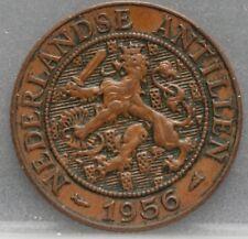 Nederlandse Antillen  Netherlands Antilles -  2 1/2 cent 1956