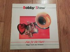 BOBBY SHEW & THE WIGAN YOUTH JAZZ ORCHESTRA * AIM FOR THE HEART * VINYL LP EX/EX