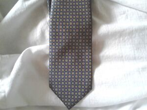 New BRIONI  made in Italy   Woven Silk Neck Tie MSRP $240!