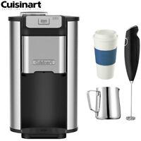 Cuisinart DGB-1FR Single Cup Coffeemaker (Refurbished) w/Coffee Drinker Bundle