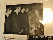 Beatles Memorabilia: 1964 The Beatles Meet Princes Margret/ Duke of Edinburgh