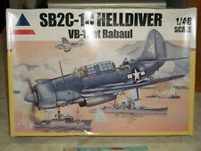 Accurate Miniatures 1/48 SB2C-1C Helldiver VB-17 at Rabaul w/Print Scale Decals