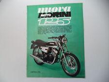 advertising Pubblicità 1975 MOTO MORINI 125