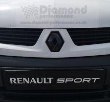 Renault Kangoo Mk1 (1997-2007) Glanz Schwarz Emblem Abdeckung