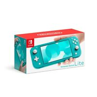 NEW - Nintendo Switch Lite 32GB Handheld Video Game Console - Turquoise