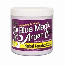 BLUE MAGIC Olio di Argan Herbal Complex LEAVE-IN Capelli Balsamo 390 g