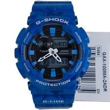 CASIO G-SHOCK G-LIDE GAX-100MA-2A MENS IMPORT MOON PHASE THERMOMETER TIDE