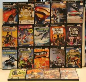 PS2 Assorted Games 98-07