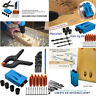 34pcs Hole Jig Kit 6/8/10mm Woodwork Guide Oblique Drilling Angle Hole Locator M
