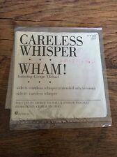 "❣RARE❣JAPAN PROMO 7""•Careless Whisper~George Michael (Wham!)"