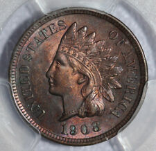 1908 Indian Cent PCGS MS63 RB