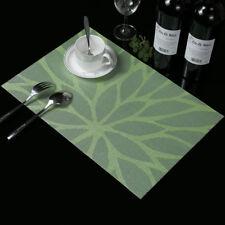 Tischsets Streifen PVC Platzdeckchen Platzset abwaschbar Kunststoff Isolierung