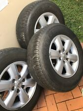 toyota hilux sr5 alloy wheels and tyres factory