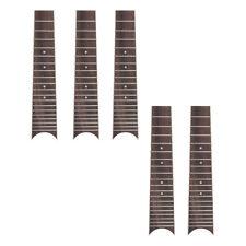 Ukulele Fingerboard Fretboard for 6 String 28 Inch Ukelele Parts 5 Pcs