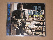 JOHN MOONEY - AGAINST THE WALL - CD PROMO U.S.A.