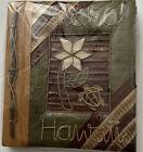 Island Paper Handmade Natural Photo Album Turtle Hawaii SEALED 9.5x10.5 Hawaiian