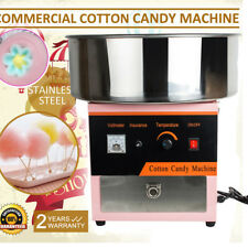 Electric Cotton Candy Machine Floss Maker Commercial Carnival Party 4-6 Pcs/m