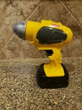 Fisher Price Toy Drill Power Tool Yellow - drill bit not included
