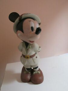 Disney Minnie Mouse Character CERAMIC Figure Safari Rare 14CMS TALL collectable