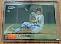 Zack Collins Refractor RC Auto ✨ 2020 Topps Stadium Club Chrome Rookie Autograph