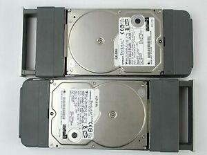 Hitachi Deskstar 3.5 7200RPM 500GB IDE HDDs w/Apple Xserve Caddies Matched Pairs