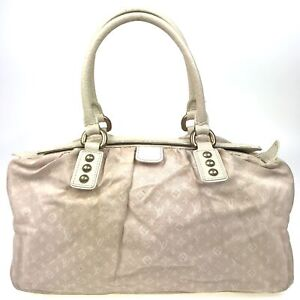 100% authentic Louis Vuitton mini lin Trapeze GM pink M40064 [Used] {04-0276}