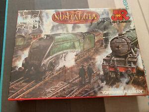 Brand new sealed JR nostalgia steam engines Yorkshire Pullman 500 piece jigsaw