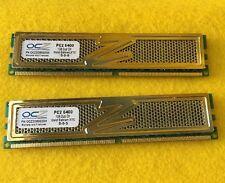 A pair of 2 OCZ DDR2 PC2-6400 2GB (1GB x 2) Laptop RAM sticks