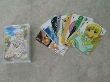 Chobits Anime Manga Playing Card Poker Deck Excellent Condition