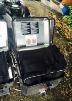 ALUMINUM TOP BOX PANNIER INNER BAG FOR BMW R 1200 GS & F 800 GS ADVENTURE