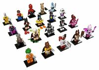 LEGO Minifigures The Lego Batman Movie Full Set of 20 Plus Batmobile Poly Bag