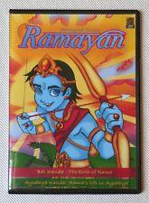 Animated Stories Ramayana Ramayan Children Cartoon DVD in English Rama Ram Sita