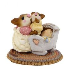 Wee Forest Folk M-69 Beddy-Bye Mousey Yellow Baby