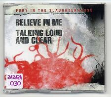 Fury In The Slaughterhouse Maxi-CD Believe In Me - 2-track CD