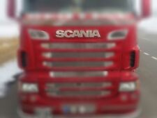 2009-2016 SCANIA R/G CHROME NAME BADGE STAINLESS STEEL(M3 BIG Model)