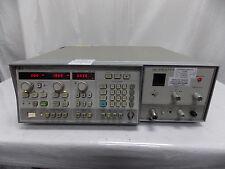HP AGILENT 8350B SWEEP OSCILLATOR W/ 86290C RF PLUG IN & CALIBRATED STICKER