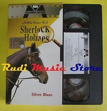 film VHS cartonata SHERLOCK HOLMES Silver blaze 2002 MALAVASI (F37) no dvd
