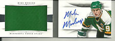 MIKE MODANO ON CARD AUTO RARE GREEN JERSEY BOOK /25 2013-14 NATIONAL TREASURES