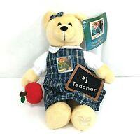 USPS 2006 Collectible Stamp Mrs Taylor Teacher Plush Bear Stuffed Animal w/Tags