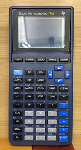 Texas Instruments TI-81 Graphing Calculator Tested Working