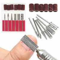 12pcs/Set Electric Nail Art Drill Bits Manicure Pedicure File Machine Tool Kit