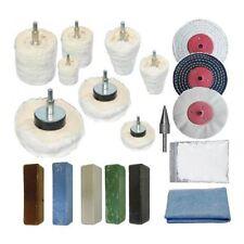 "Metal Polishing Kit 19pc Aluminium, Brass, Steel, Stainless Steel 3"" x 1/2"""