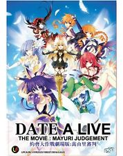 DVD ANIME DATE A LIVE THE MOVIE : MAYURI JUDGEMENT *ENGLISH SUBTITLE*